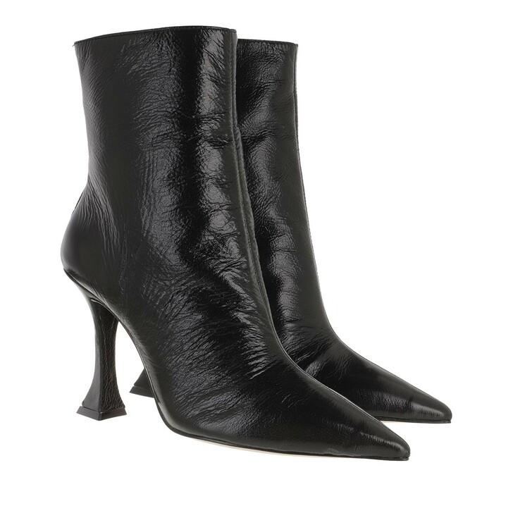 Schuh, Schutz, High Boots Black