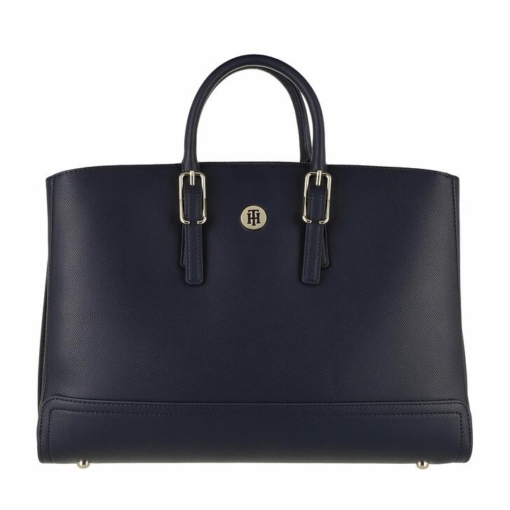 Handtasche, Tommy Hilfiger, Honey Workbag Desert Sky