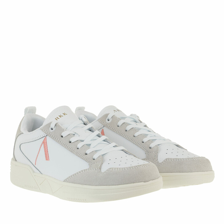 Schuh, ARKK Copenhagen, Visuklass Leather Suede S-C18 Sneakers White Peach