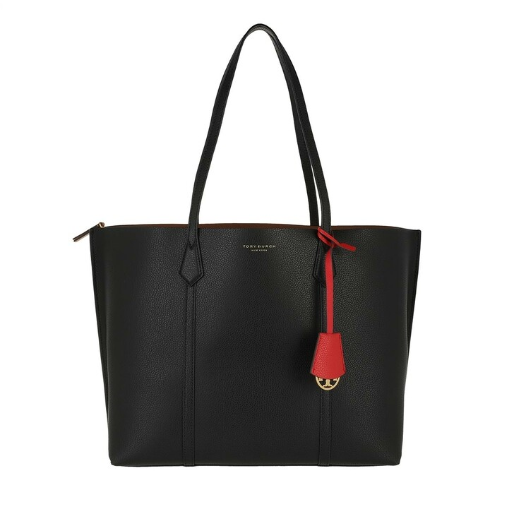 Handtasche, Tory Burch, Perry Triple Compartment Tote Black