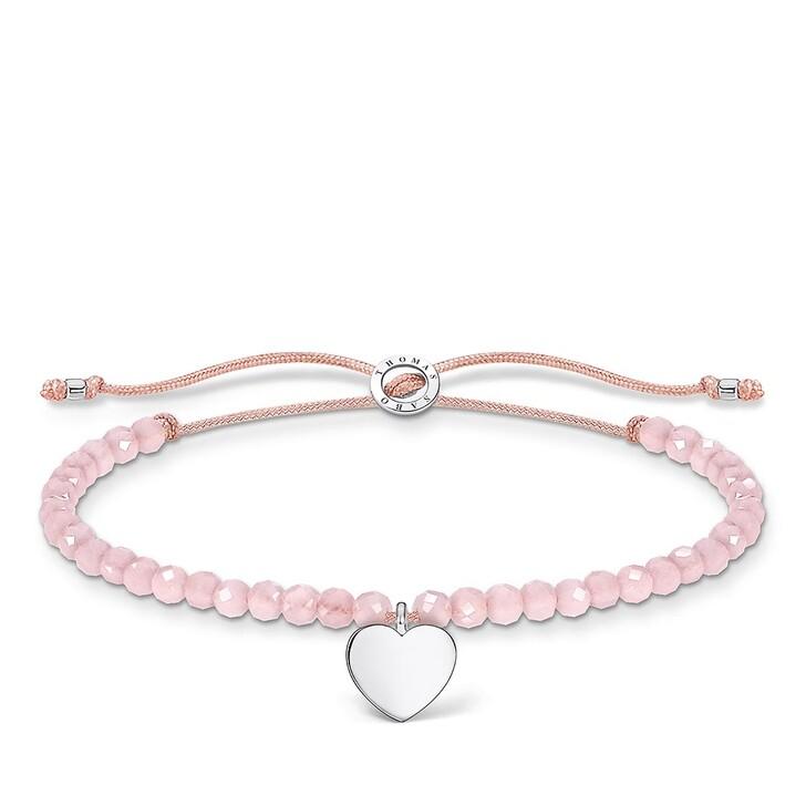 Armreif, Thomas Sabo, Bracelet Heart Rose
