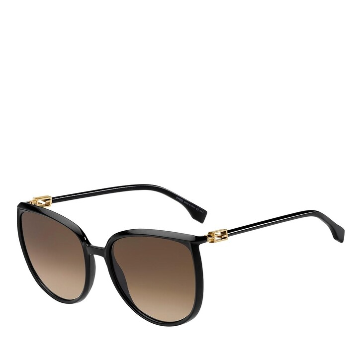 Sonnenbrille, Fendi, FF 0432/G/S BLACK