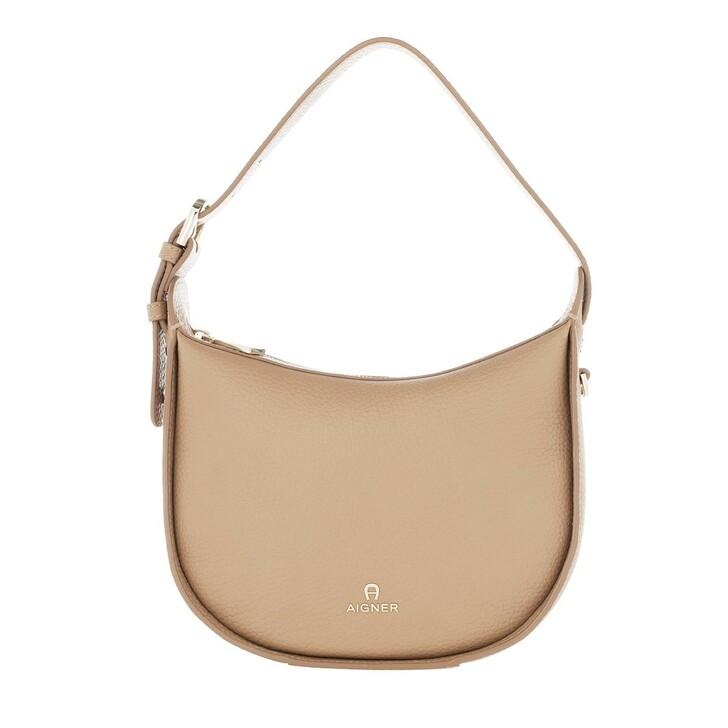 bags, AIGNER, Ivy Handle Bag Cashmere Beige