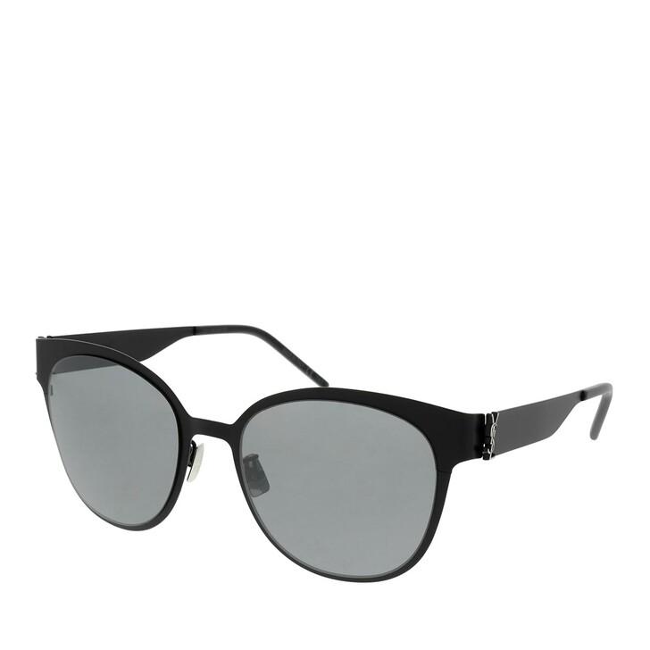 sunglasses, Saint Laurent, SL M42-004 56 Sunglass WOMAN METAL BLACK