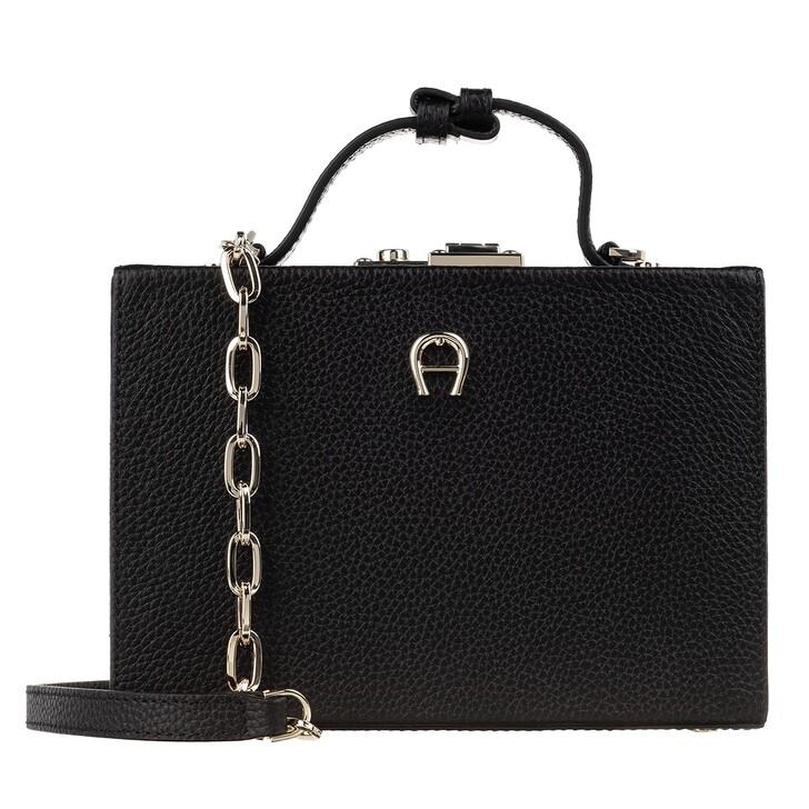 Handtasche, AIGNER, Alexis Crossbody Bag Black