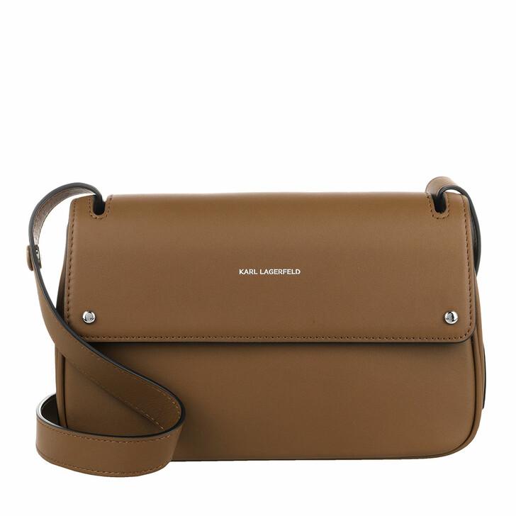 bags, Karl Lagerfeld, K/Ikon Shoulderbag Noisette