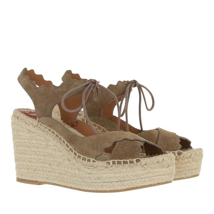Schuh, Chloé, Sandals Dark Grey