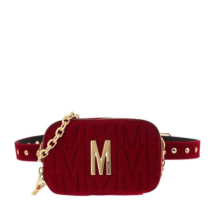 belt_bags, Moschino, Belt Bag Fantasia Rosso