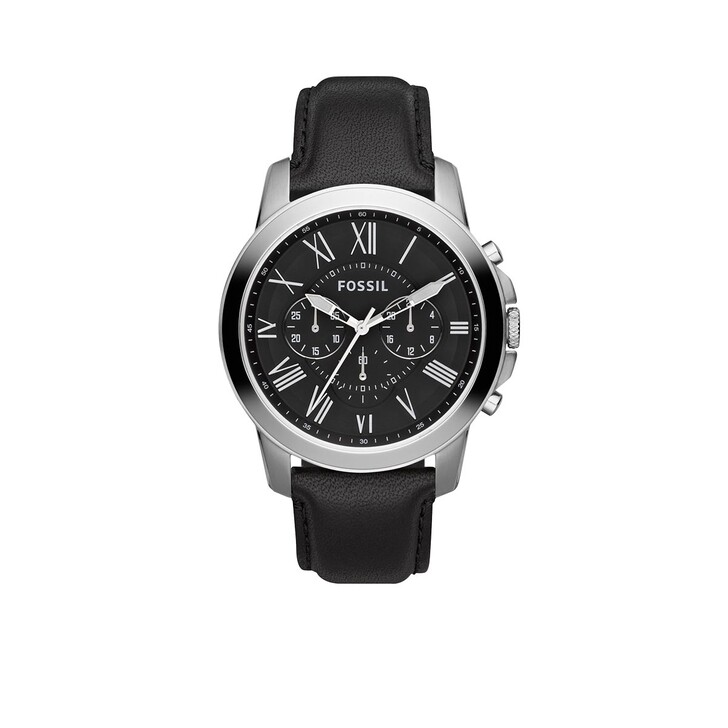 Uhr, Fossil, Men Grant Watch Silver