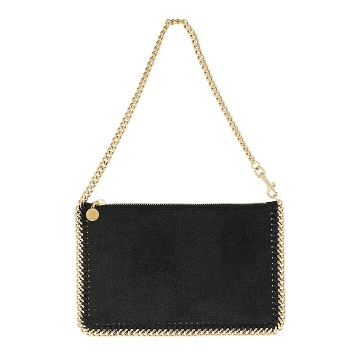 Handtasche, Stella McCartney, Falabella Clutch Nero
