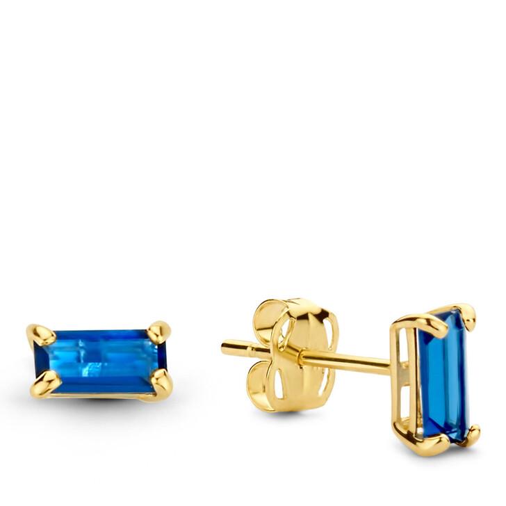 earrings, Isabel Bernard, Baguette Vere 14 Karat Ear Studs Gold