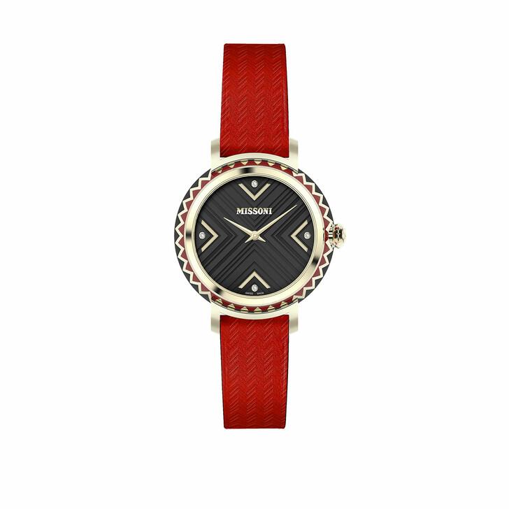 Uhr, Missoni, Watch CHEVRON (Y3) Red