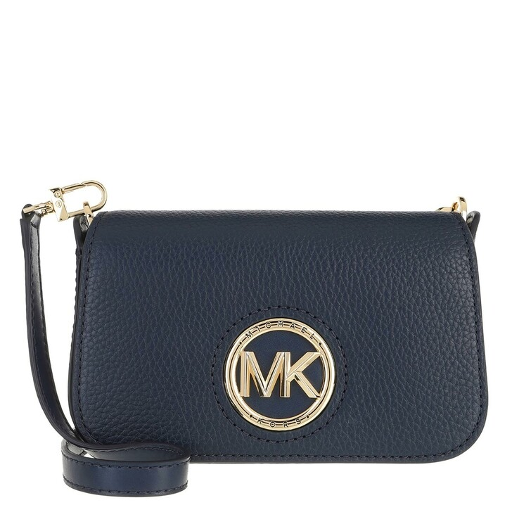 Handtasche, MICHAEL Michael Kors, Samira Small Convertible Crossbody Bag Navy