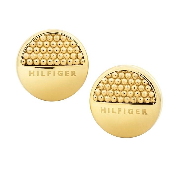 Ohrring, Tommy Hilfiger, Classic Signature Stud Gold