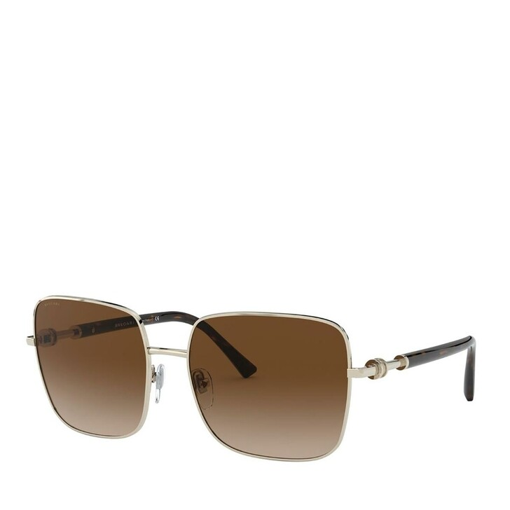 Sonnenbrille, BVLGARI, Women Sunglasses Dolcevita 0BV6134 Pale Gold