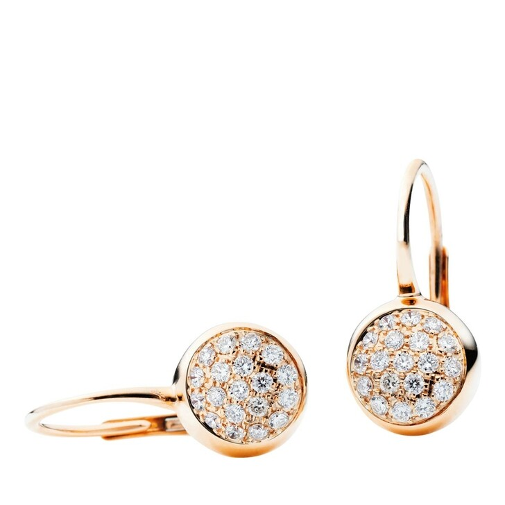 Ohrring, Capolavoro, Earrings Dolcini Rosegold