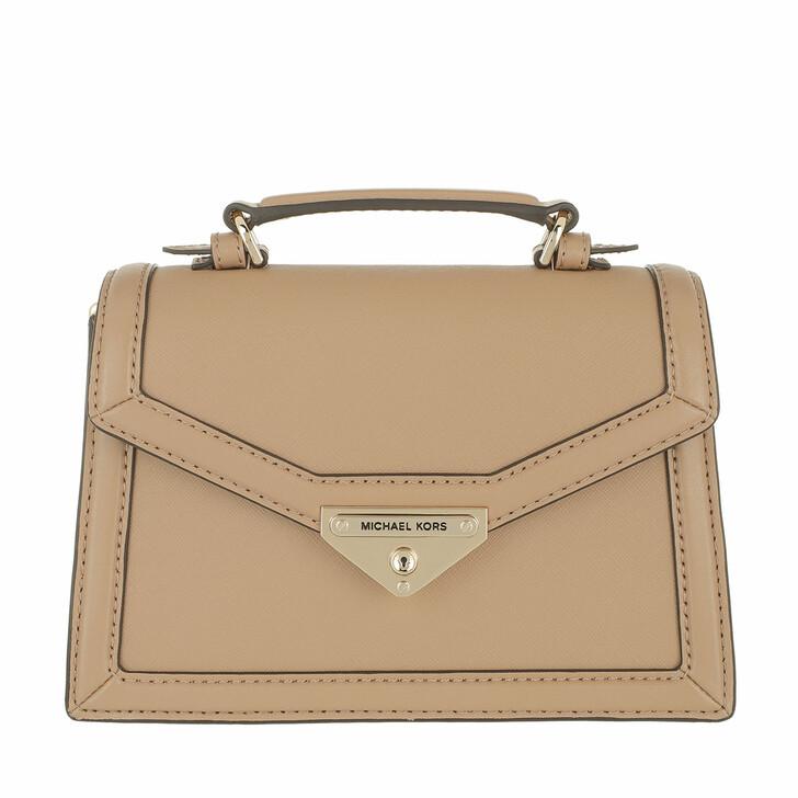 bags, MICHAEL Michael Kors, Grace Small Crossbody Bag Camel