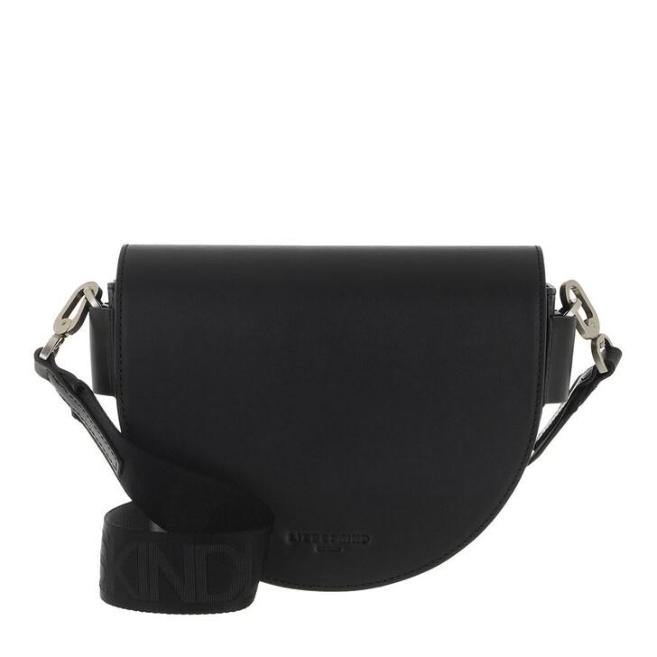 Handtasche, Liebeskind Berlin, Mixed Bag Crossbody Medium Black