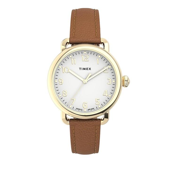 Uhr, Timex, Standard 34mm Gold