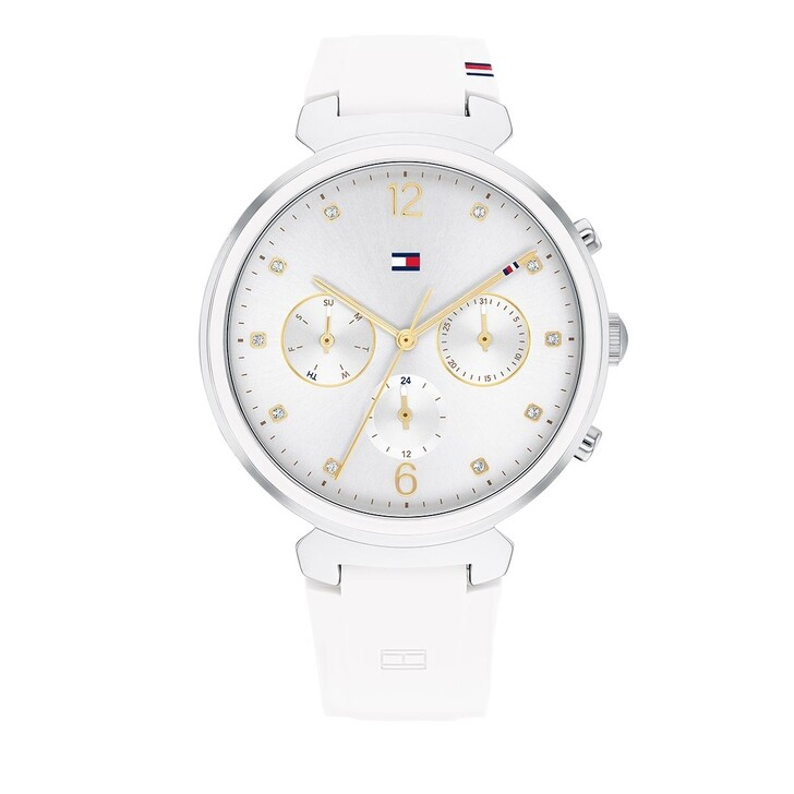 watches, Tommy Hilfiger, Quarz Watch White