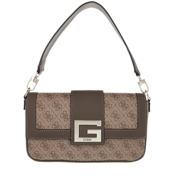Handtasche, Guess, Brightside Shoulder Bag Latte