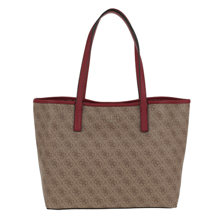 Handtasche, Guess, Vikky Tote Brown