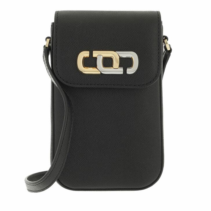 smart_cases, Marc Jacobs, The J Link Phone Crossbody Bag Leather Black