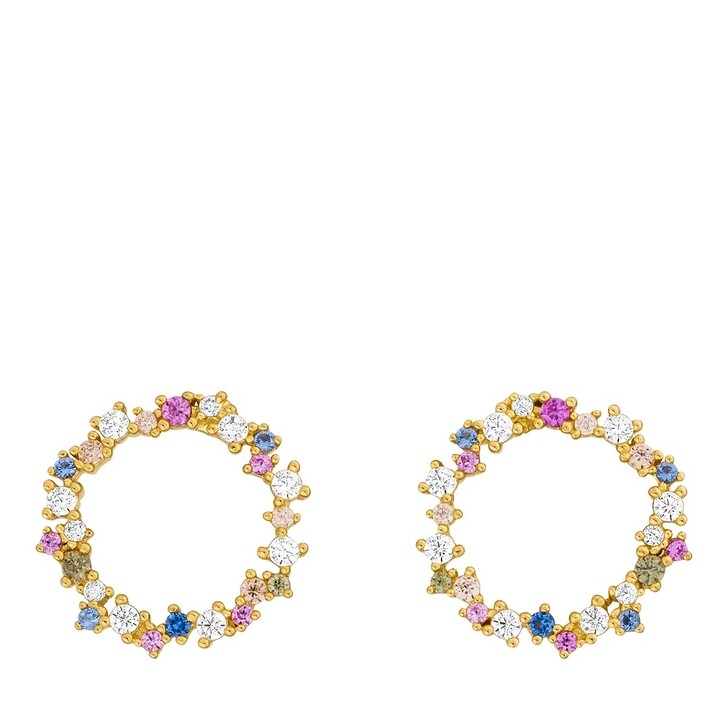 earrings, Leaf, Earrrings Candy Sterlingsilver Gold