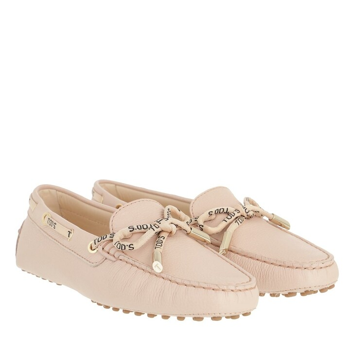 Schuh, Tod's, Loafers Leather Rosa Kiss