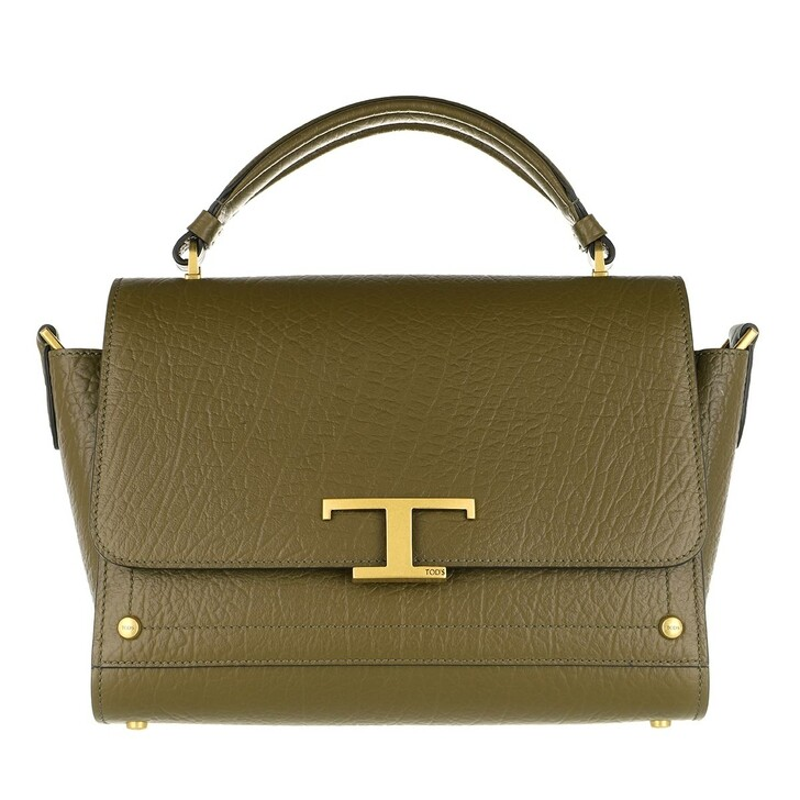 Handtasche, Tod's, Small Crossbody Bag Leather Khaki