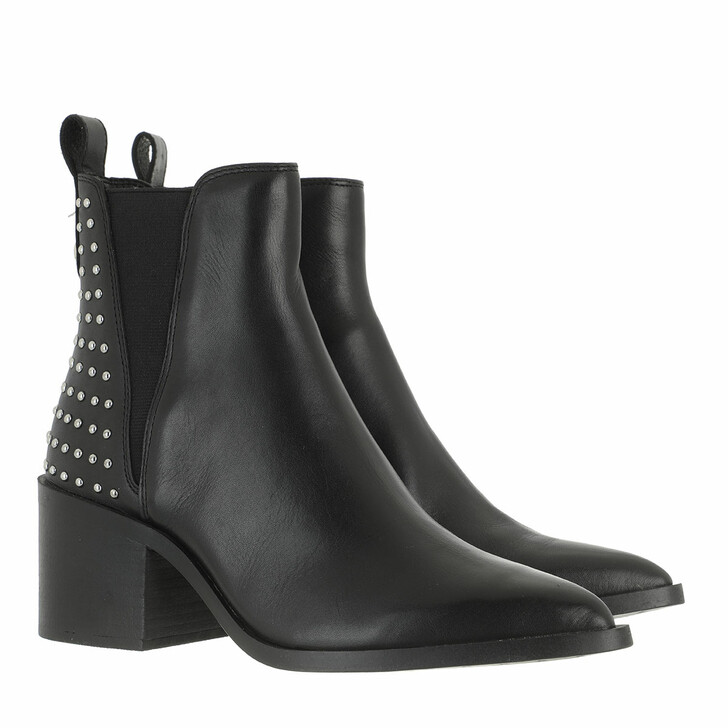 Schuh, Steve Madden, Audition-S Ankle Boots Leather Black