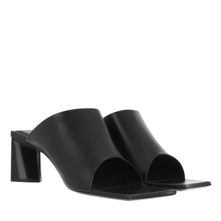 Schuh, Balenciaga, Moon Mules Leather Black