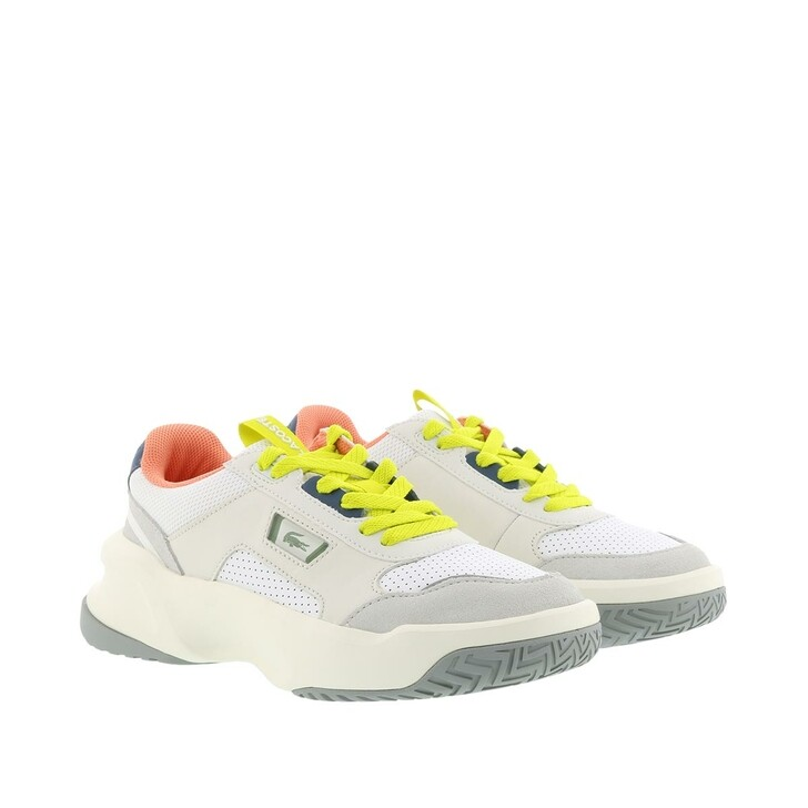 Schuh, Lacoste, Ace Lift Sneaker Shoes White/Light Grey