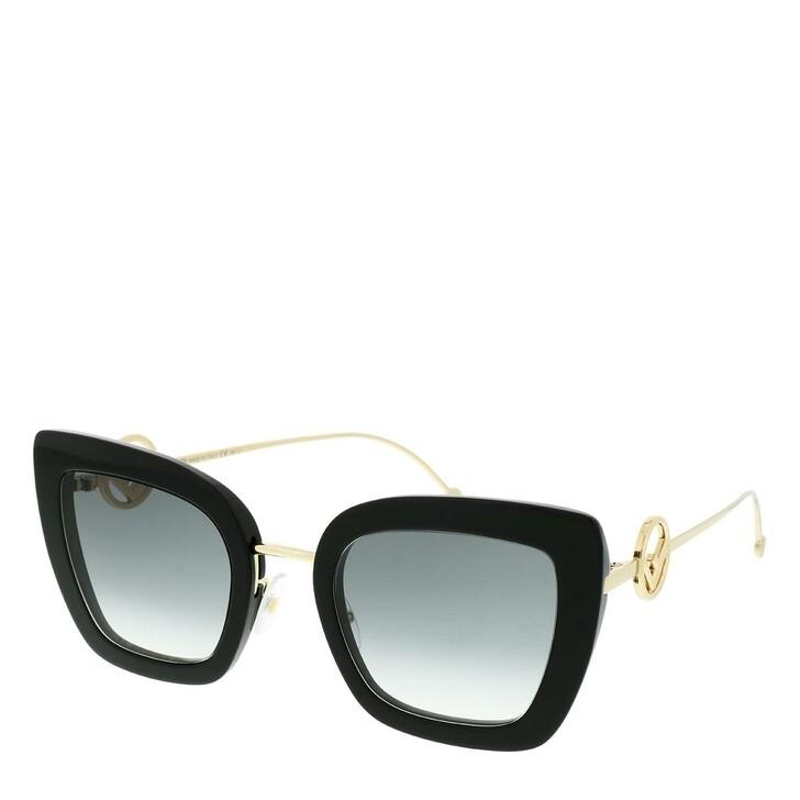 sunglasses, Fendi, FF 0408/S Sunglasses Black