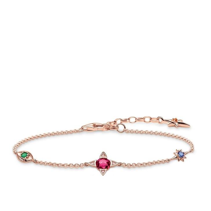 Armreif, Thomas Sabo, Small Lucky Charms Bracelet Rosegold