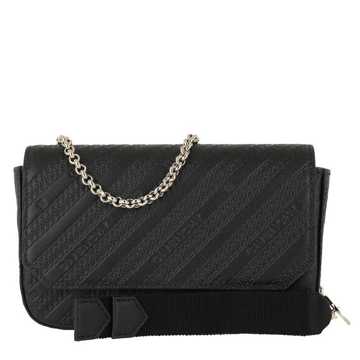Handtasche, Givenchy, Bond Pouch Chain Strap Leather Black