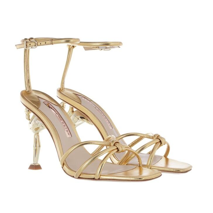 shoes, Sophia Webster, Flo Flamingo Sandal Gold