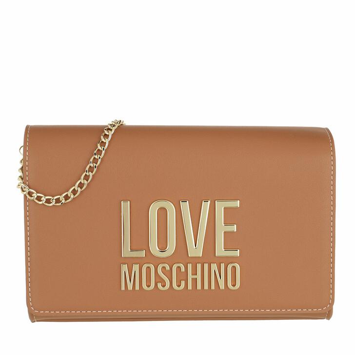 bags, Love Moschino, Borsa Pu  Cammello