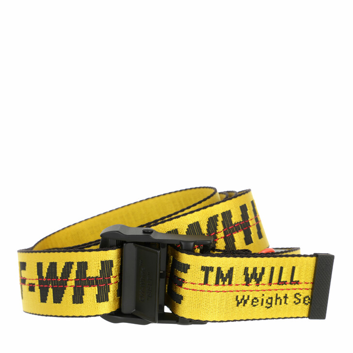 belts, Off-White, Classic Industrial Yellow