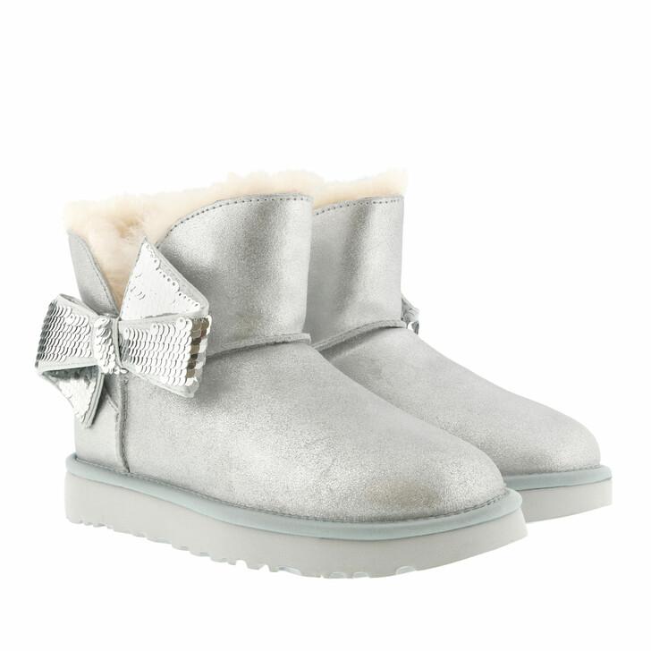 Schuh, UGG, W Mini Sequin Bow Silver