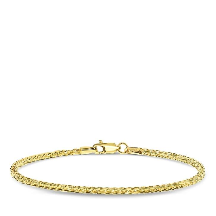 bracelets, DIAMADA, Bracelet 19,5cm 14KT Yellow Gold