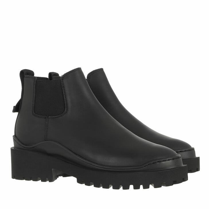 shoes, Nubikk, Fae Blues Black Leather