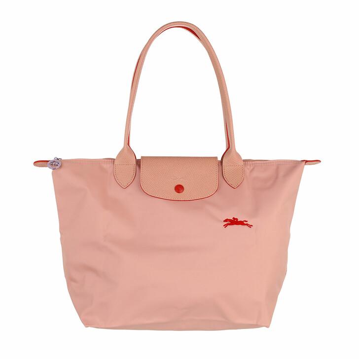 bags, Longchamp, Le Pliage Club Shoulder Bag  Rose