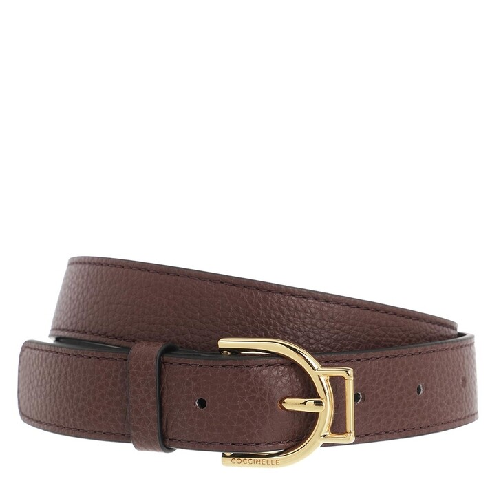 Gürtel, Coccinelle, Arlettis Buckle Belt Chocolate