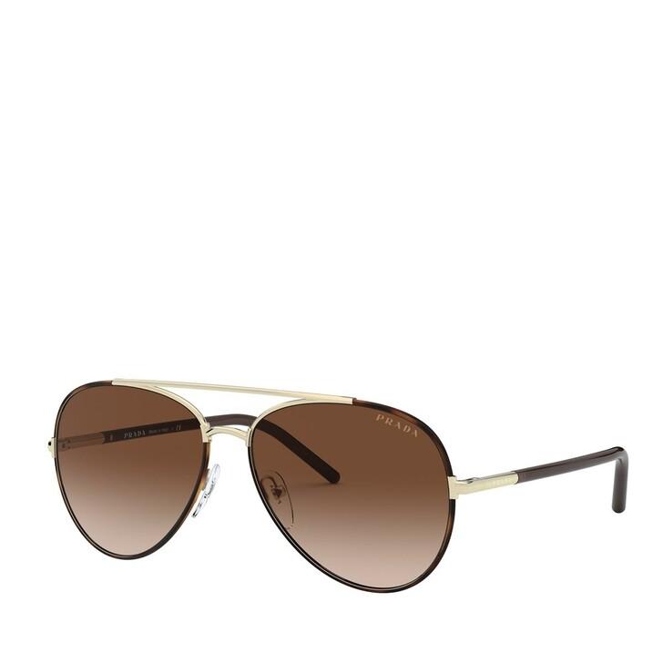 Sonnenbrille, Prada, METALL WOMEN SONNE HAVANA