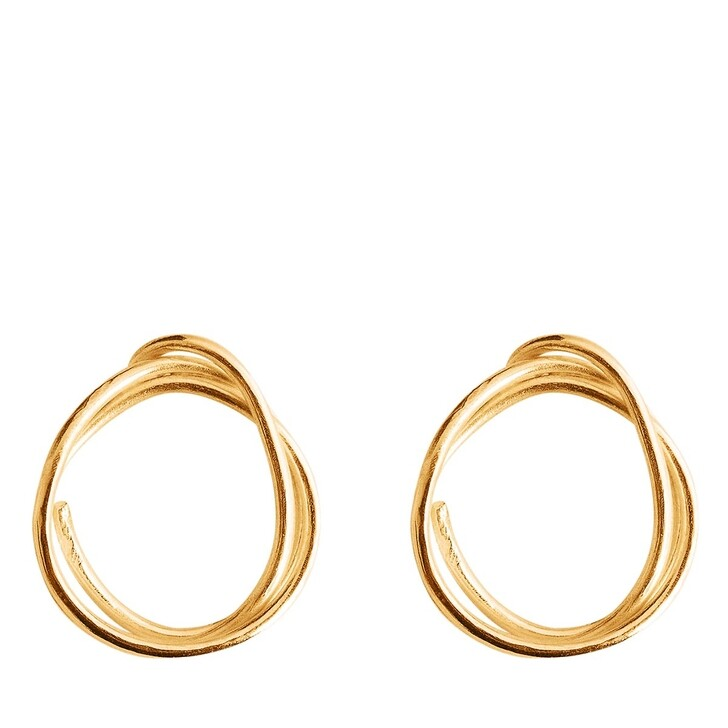 earrings, Released From Love, Classic Hoops 005 Gold Vermeil