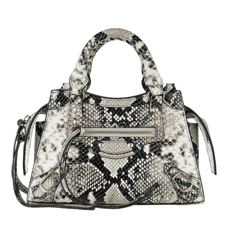 Handtasche, Balenciaga, Neo Classic City Tote Bag Python Multicolor