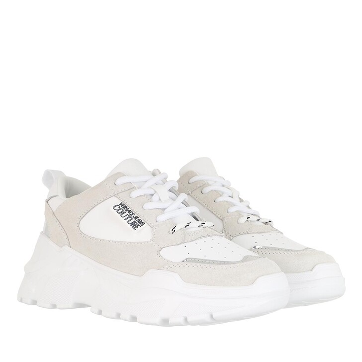 Schuh, Versace Jeans Couture, Linea Fondo Speed Sneaker White