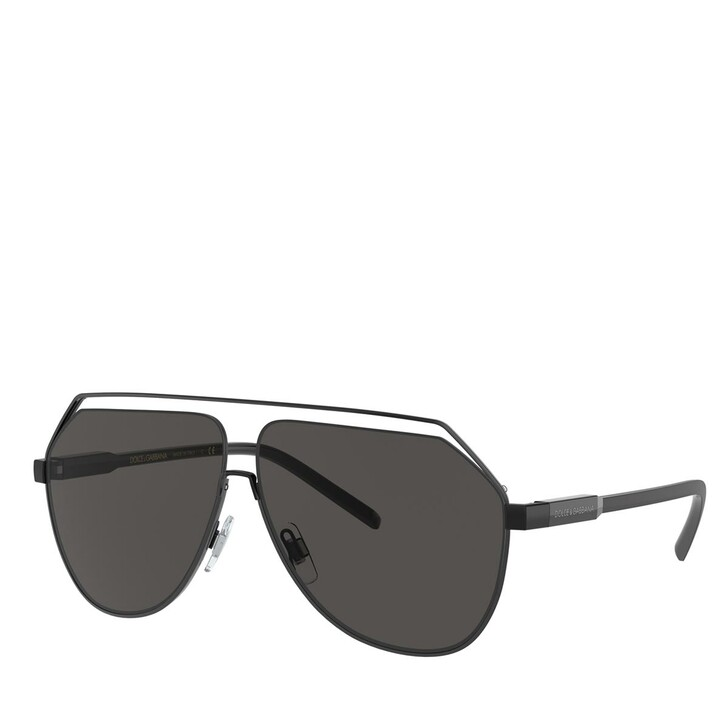 Sonnenbrille, Dolce&Gabbana, METALL MAN SONNE MATTE BLACK