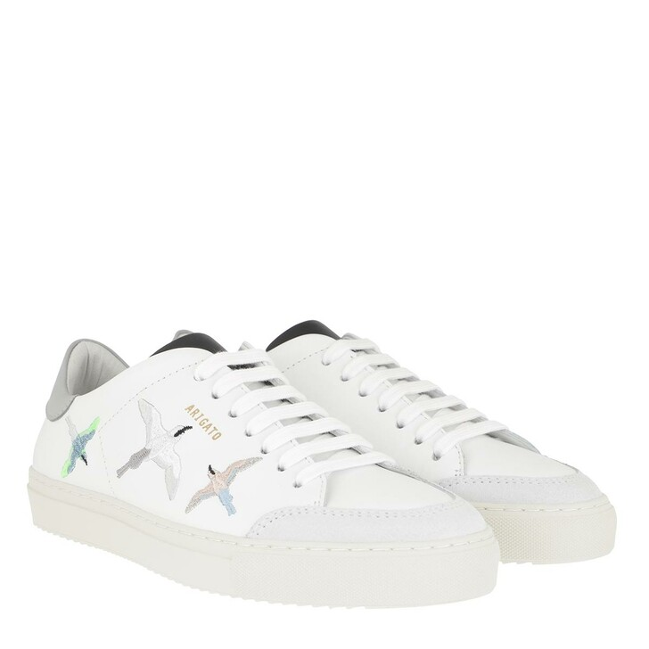 Schuh, Axel Arigato, Clean 90 Bird Sneakers White Grey Black